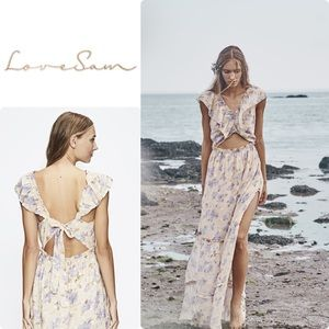 Love Sam La Villette Maxi Dress